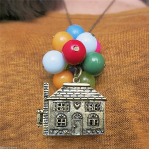 Balloon House Lock Pendant