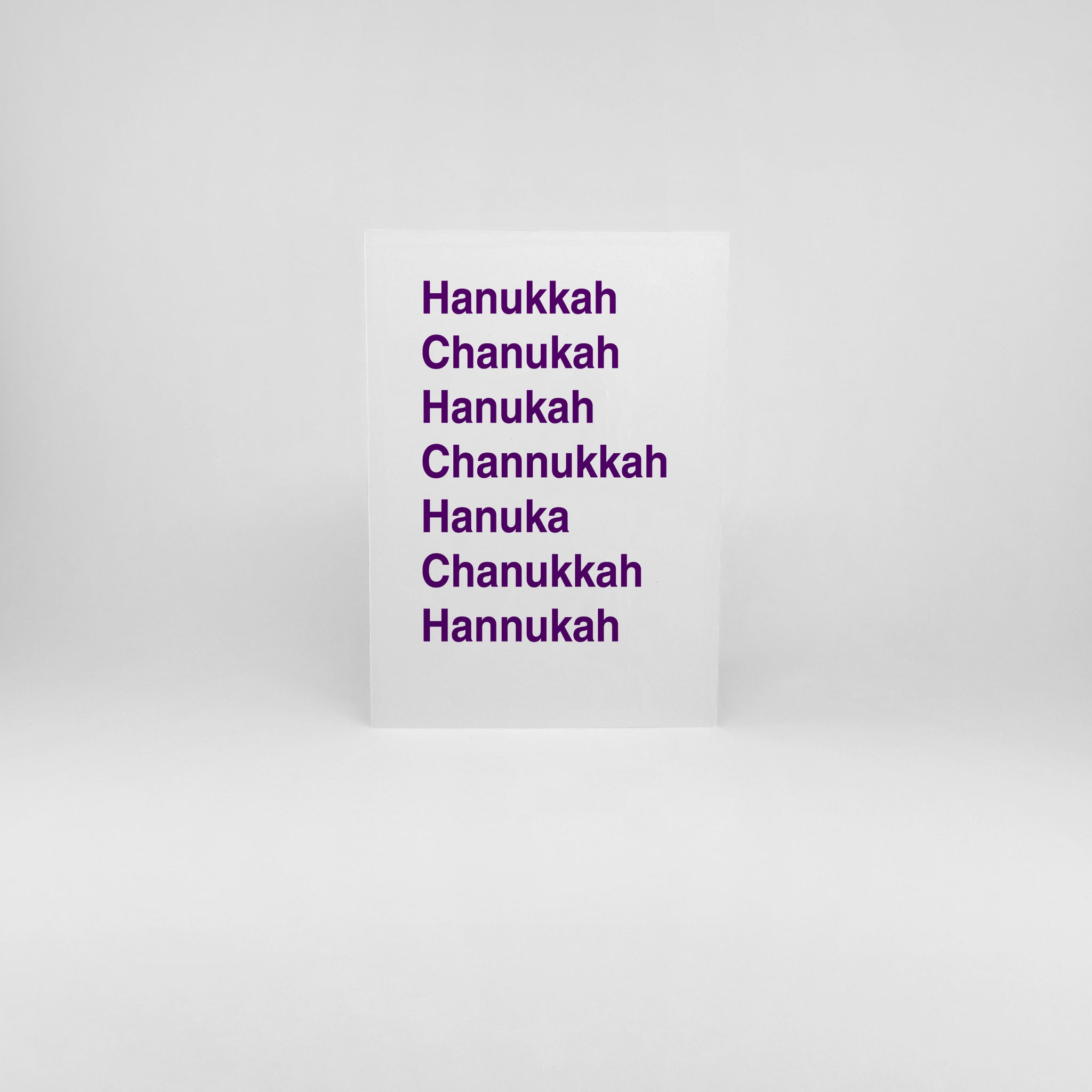 Ways to Say Chanukkah