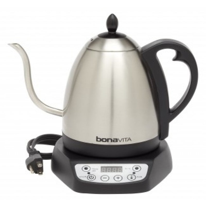 Bonavita Electric Gooseneck Variable Temperature Kettle 220V - إبريق بونافيتا الرقمي مبرمج الحرارة - EQUAL Coffee Hub