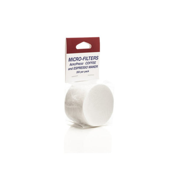 Filters for Aeropress (350 pk) - فلاتر إيروبرس بيضاء 350 فلتر - EQUAL Coffee Hub