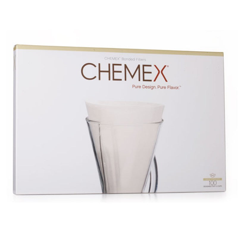 Chemex Coffee Filters  CUPS فلتر كمكس أبيض - 3 - EQUAL Coffee Hub