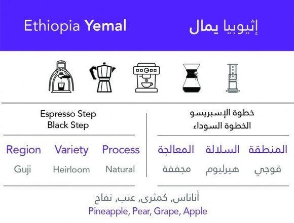 Ethiopian Yemal -  إثيوبيا يمال - EQUAL Coffee Hub