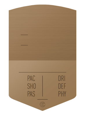 S19 Simple Bronze - CardsPlug | Real life football card