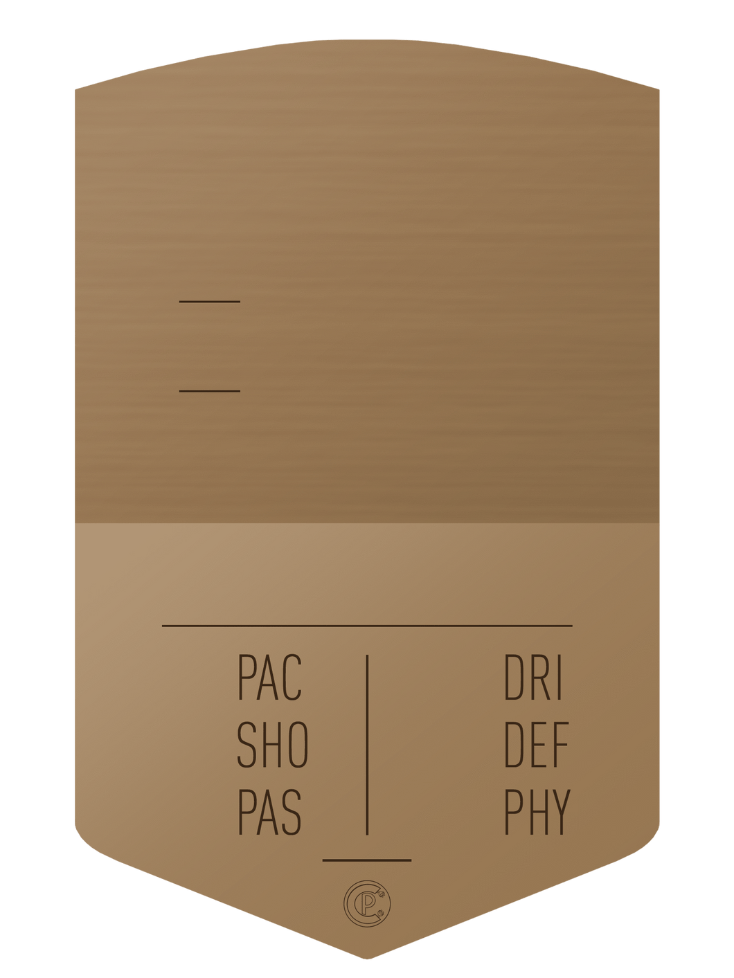 S19 Simple Bronze - CardsPlug