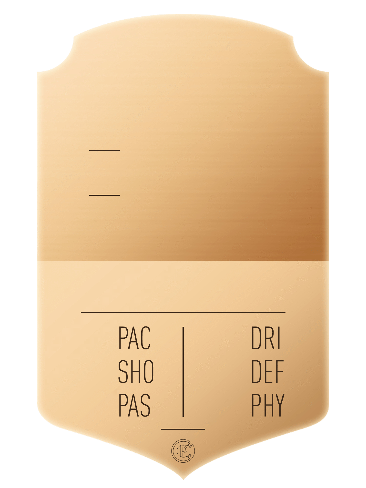 S19 Shiny Bronze - CardsPlug | Real life football card