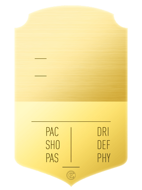 S19 Shiny Gold - CardsPlug | Real life football card