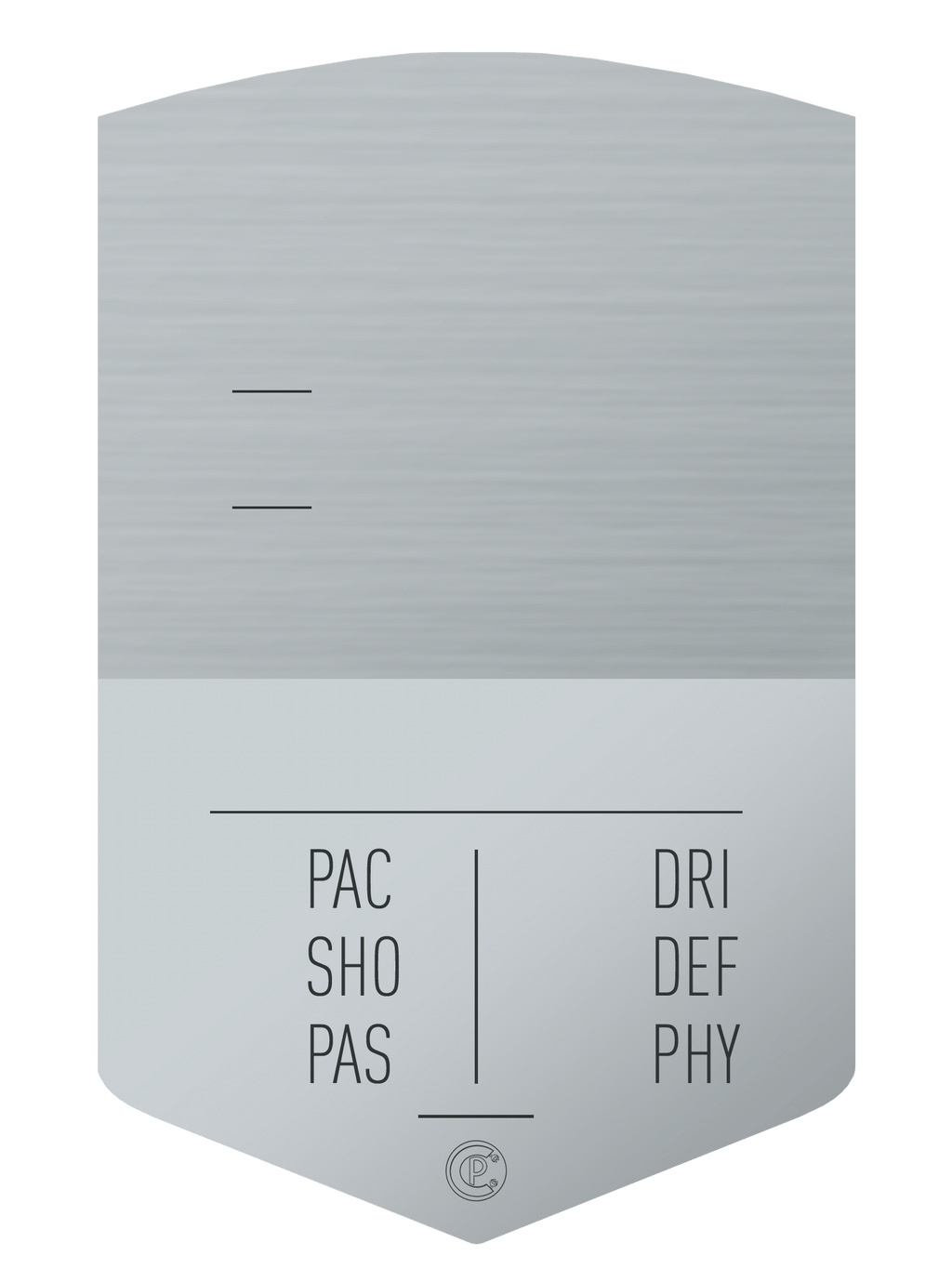 S19 Simple Silver - CardsPlug | Real life football card