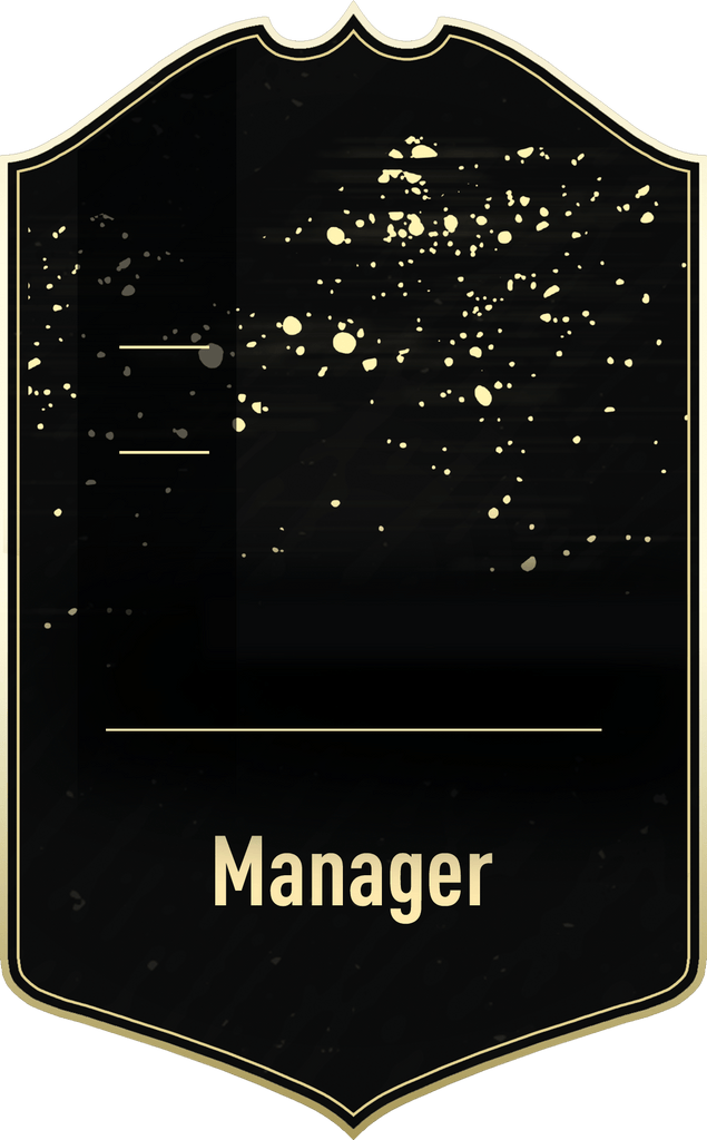 S20 Gold Inform Manager Concept - CardsPlug | Real life football card