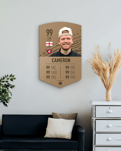 S20 Simple Bronze - CardsPlug | Real life football card
