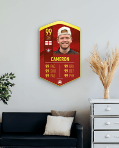 S20 Wavy Red Concept - CardsPlug | Real life football card