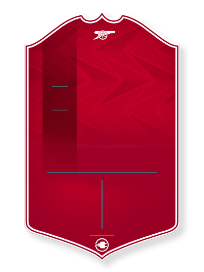 London Red - CardsPlug | Real life football card