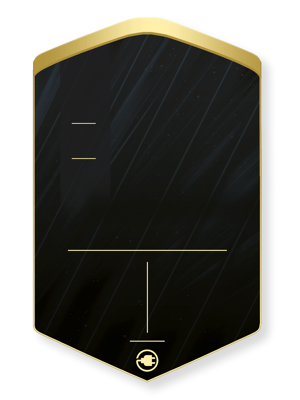 S20 Linear Gold Concept - CardsPlug | Real life football card