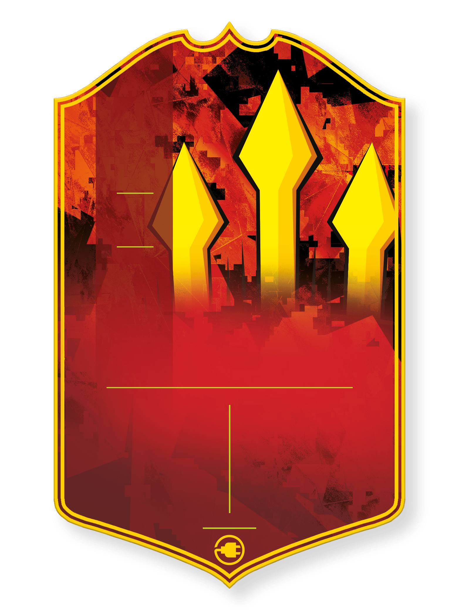 The United Stand v1 - CardsPlug | Real life football card