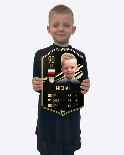 S21 Gold Inform - CardsPlug | Real life football card