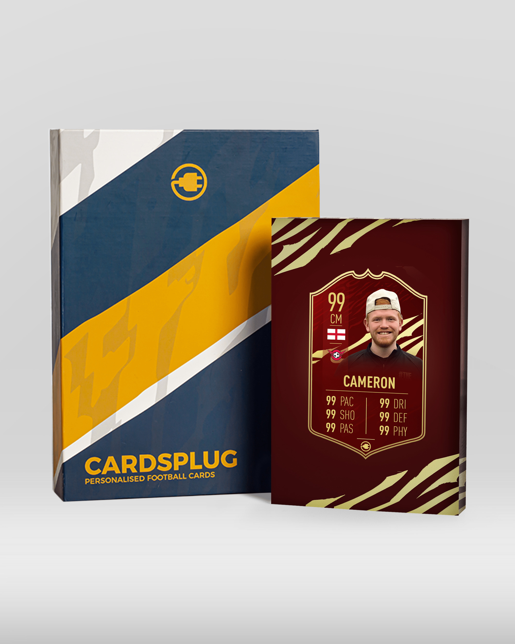 S21 Championship - CardsPlug | Real life football card
