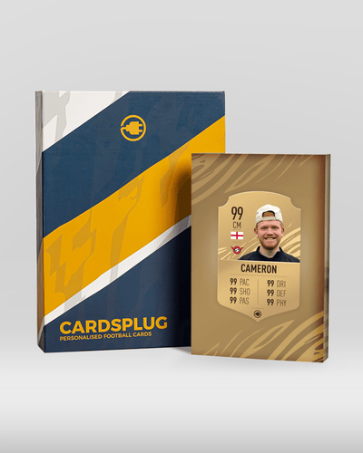 S21 Shiny Bronze - CardsPlug | Real life football card