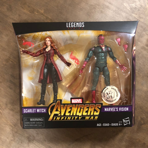 Marvel Legends Scarlet Witch / Vision 2-Pack