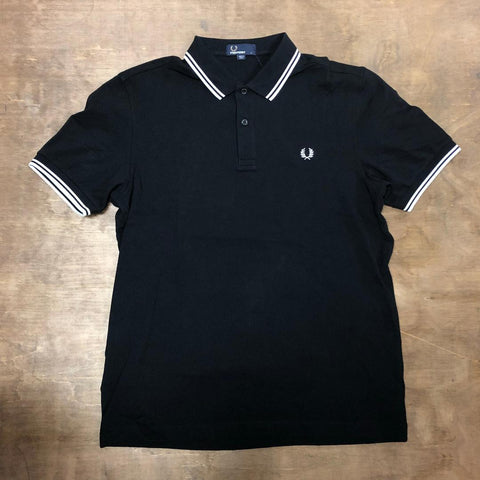 Fred Perry M3600 524 Black / Porcelain