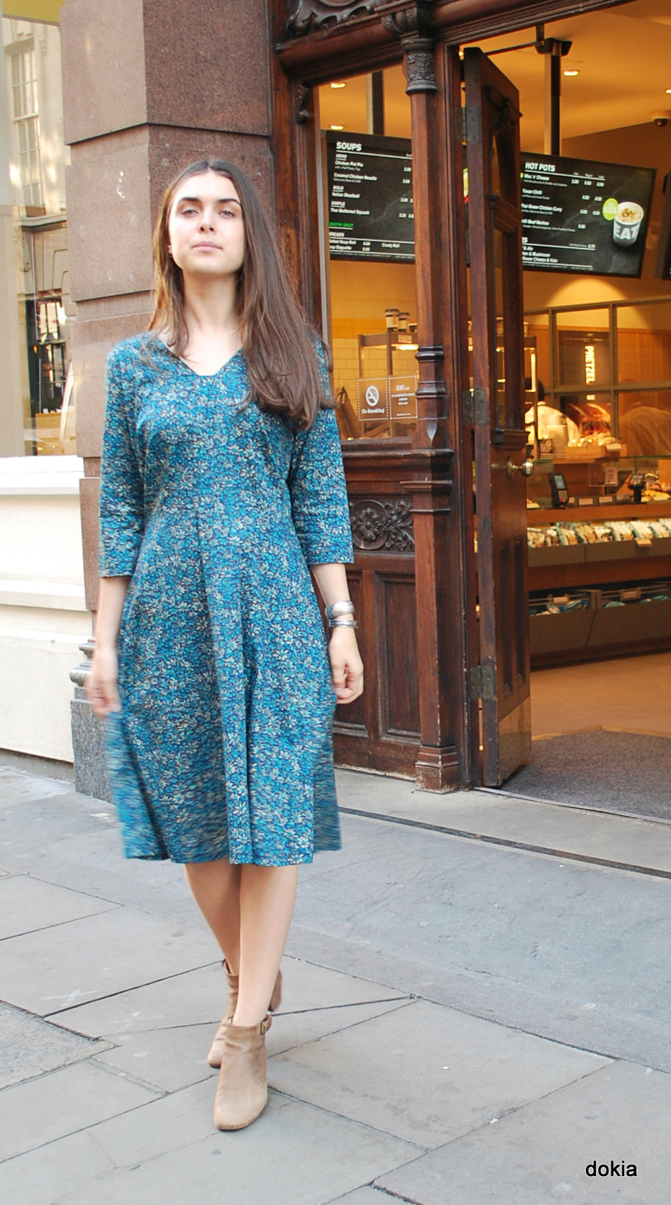 Grace dress in Liberty print