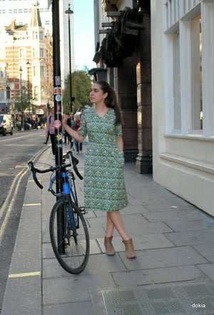 Agnes Dress in Liberty print