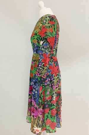 Emily Liberty silk dress