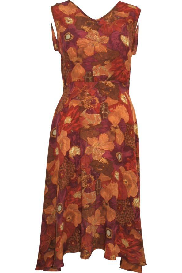 Greta Liberty silk dress