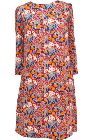 Julia dress in Liberty silk crepe