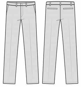 Trousers waist tapering/letting out