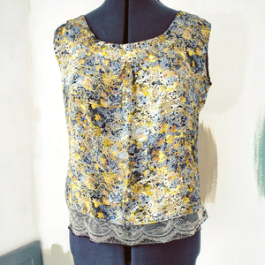 Chiara Liberty silk top