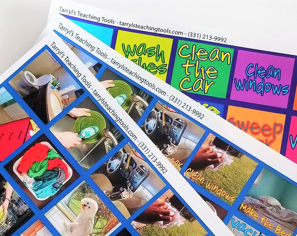 Chores Instant Download (Photo and Word)