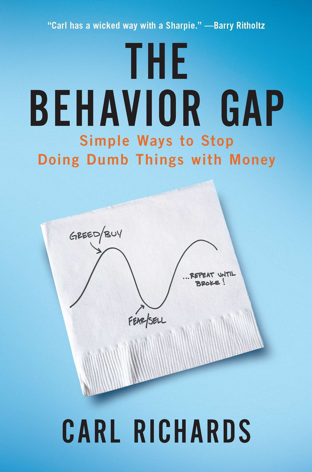 Signed copy of The Behavior Gap
