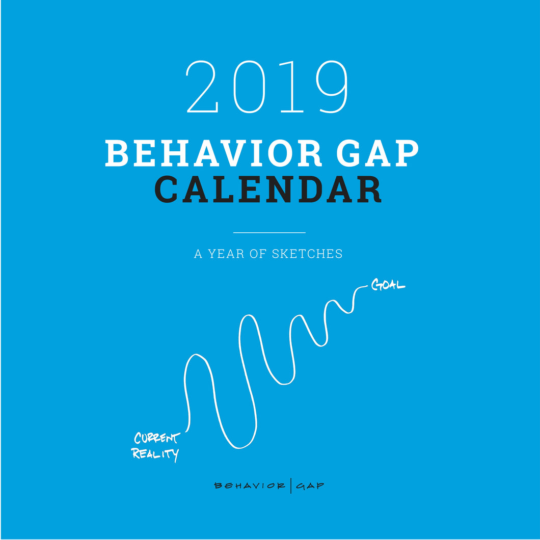 2019 Behavior Gap Calendar