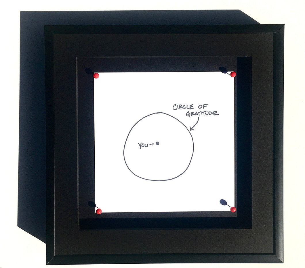 The Collectors List: Circle of Gratitude (5 x 5 inch print)