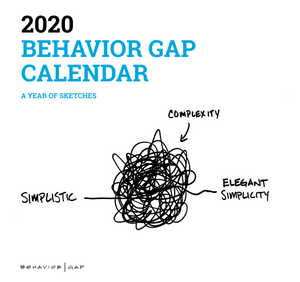 Behavior Gap Carl Richards 2020 Calendar