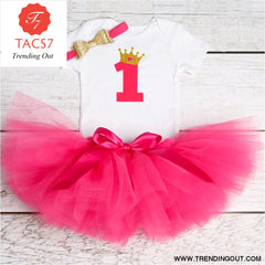 1 Year Baby Girl Dress Princess Girls Tutu Dress Tolldler Kids Clothes Baby Baptism 1st First Birthday Outfits vestido de bebes