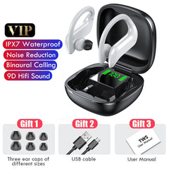 Bluetooth 5.0 Earphones Wireless Bluetooth Headphone Noise Cancelling