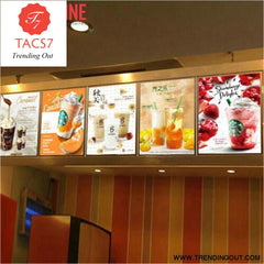 A1/A2/A3/A4 Advertising LED Aluminium Led Menu Panel Light Box Marketing Products Light Boxes