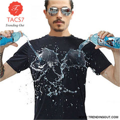 Anti-Dirty Waterproof Men T Shirt Creative Hydrophobic Stainproof