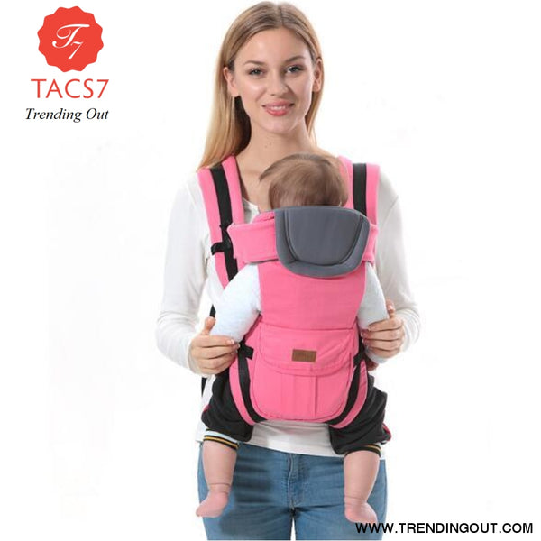 Baby carrier for 0-30 months Pink / China