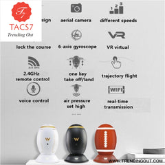 Exquisite Folding RC Quadcopter Aircaft Transformable Egg Drone G-Sensor Altitude Hold Wireless ABS 4 Channel 2.4GHz W5