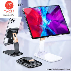 Foldable Desk Mobile Phone Holder Stand For iPhone iPad Pro Tablet Flexible Gravity Table Desktop Cell Smartphone Stand