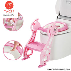 Folding Baby Kids Potty Training Toilet Chair