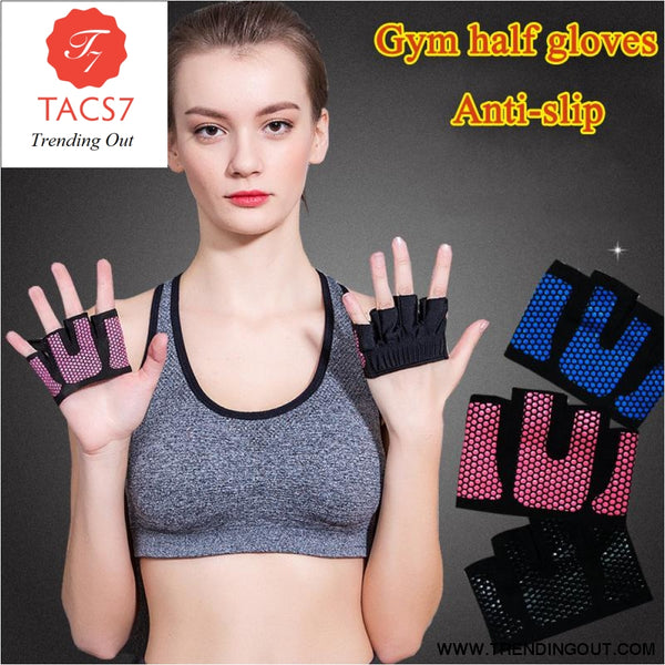 Gym Gloves Exercises Anti-slip Weight Lifting Gloves