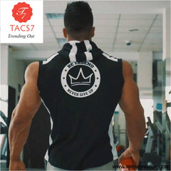 Gyms Summer Brand Stretchy Sleeveless Shirt Casual 1 / M