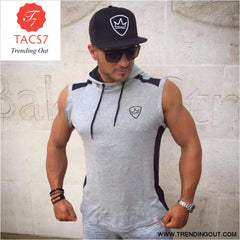 Gyms Summer Brand Stretchy Sleeveless Shirt Casual 2 / M