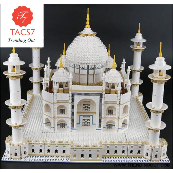 Indian toy 17008 6633Pcs The Tai Mahal Model Building Kits Brick Blocks