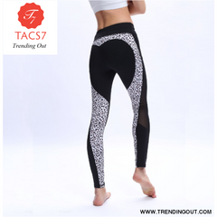 Leopard Heart Leggings