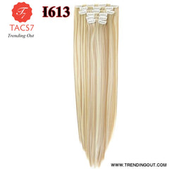 Long Straight Synthetic Hair Extensions Color 14 / 22inches