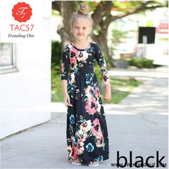 Maxi Girls Summer Dresses Elegant Kids Clothes Style Twelve / 2T