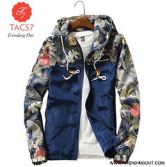 Mens Hooded Jackets Slim Fit Long Sleeve Clothing